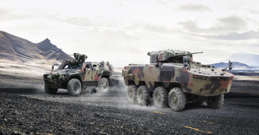 Afrika'dan ilk Otokar ARMA 8x8 siparişi